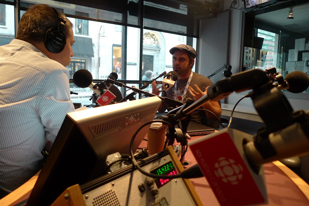interview radio canada